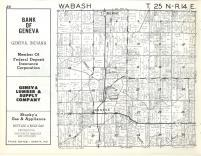 Wabash T25N-R14E, Adams County 1962